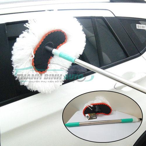 chổi cán dài vệ sinh xe