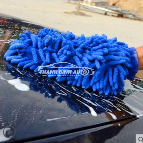 Găng tay lau rửa xe chuyên dụng