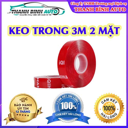 Keo trong 3M 2 mặt
