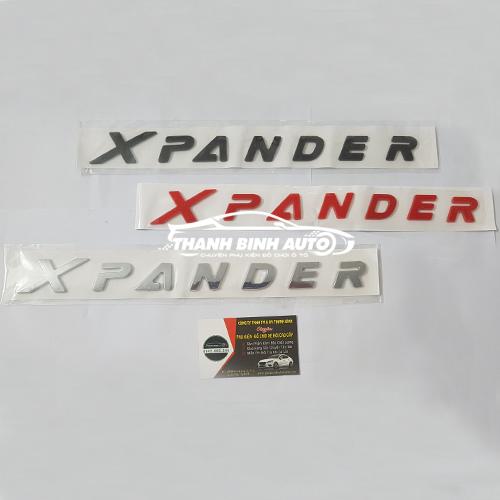 Miếng dán chữ Xpander