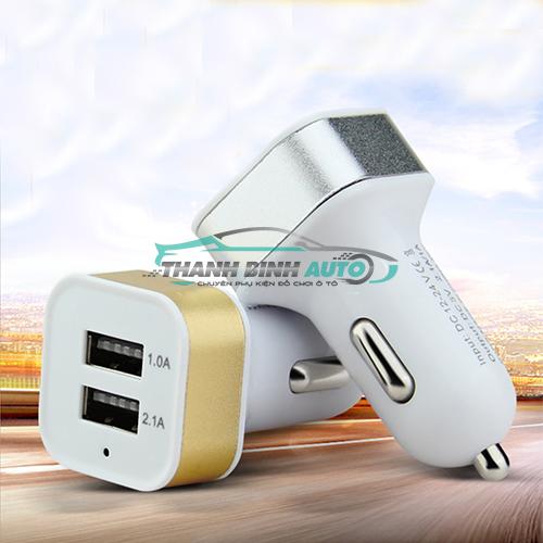 Tẩu chia 2 cổng USB